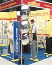 """АНТИвор представила радиочастотные и акустомагнитные системы на выставке """"Торговое оборудование — 2006"""" в г. Одессе"""