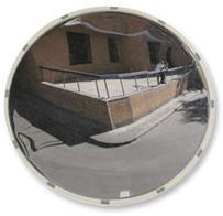 Новые уличные зеркала безопасности белого цвета - купить в компании АНТИвор