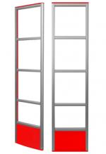Противокражная система Detex Line Market M в красном цвете