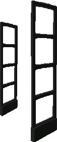 Противокражная система Detex Line Elit45 LX в черном цвете