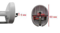 Защитный крючок 136 мм с механической обработкой